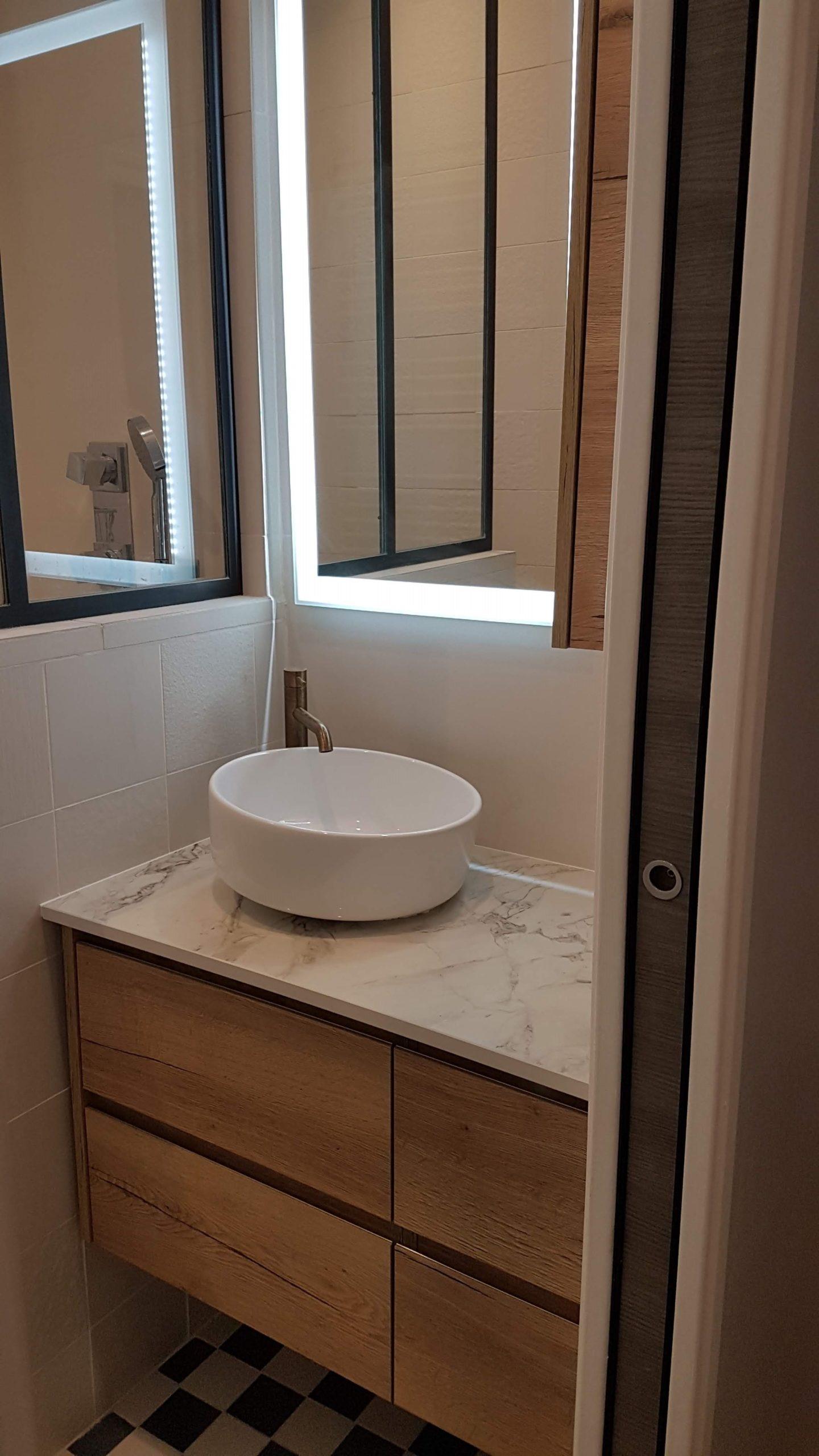 Rénovation salle de bain paris 75018