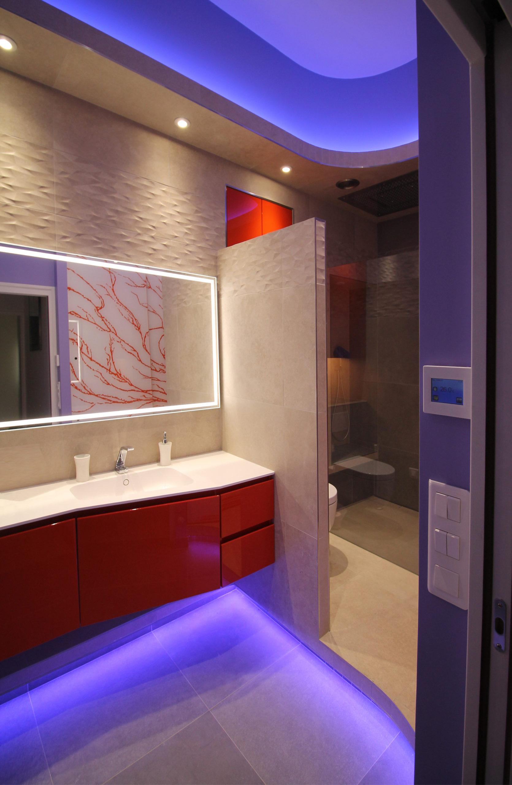 rénovation salle de bain duplex