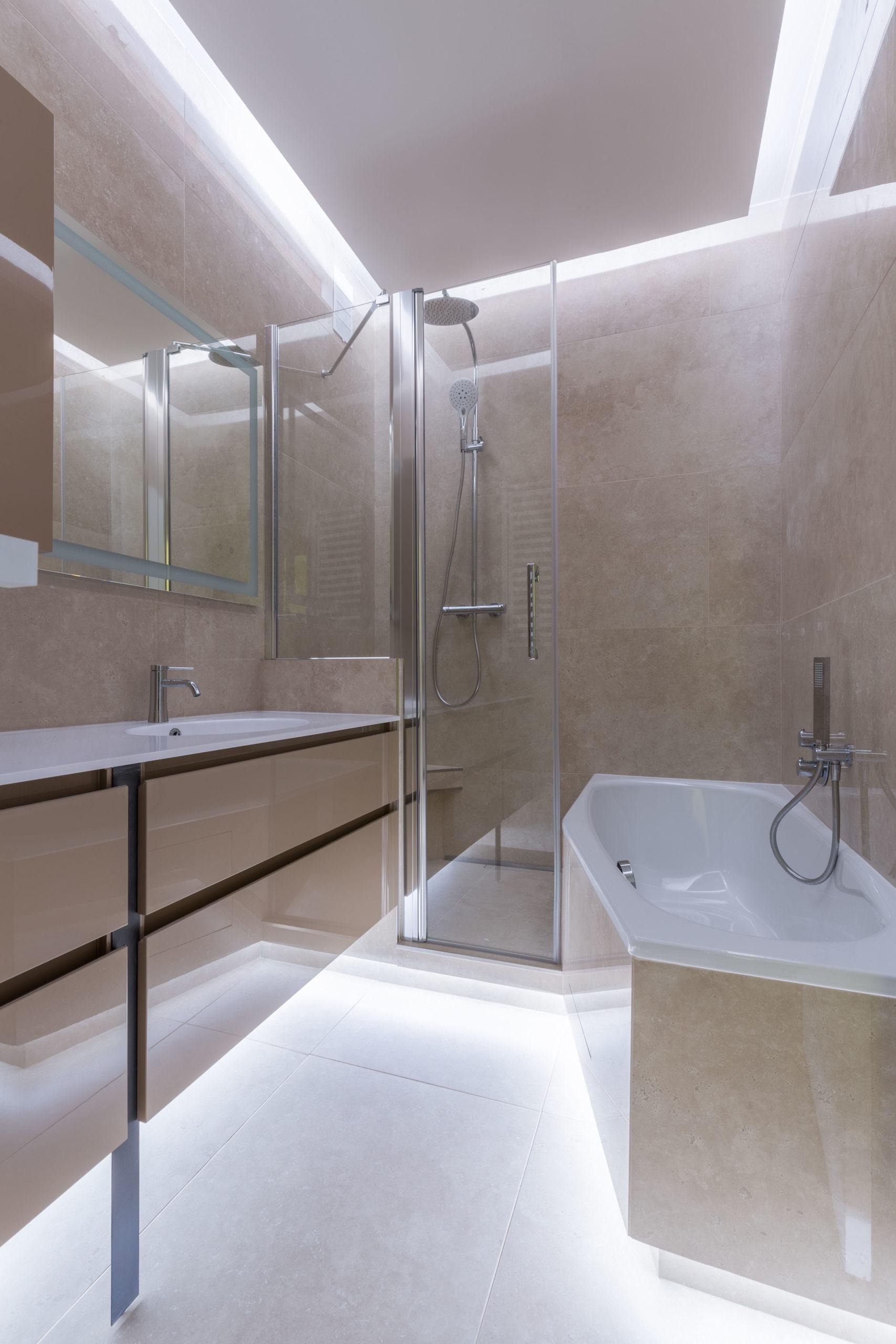 Conception sur-mesure de salle de bain