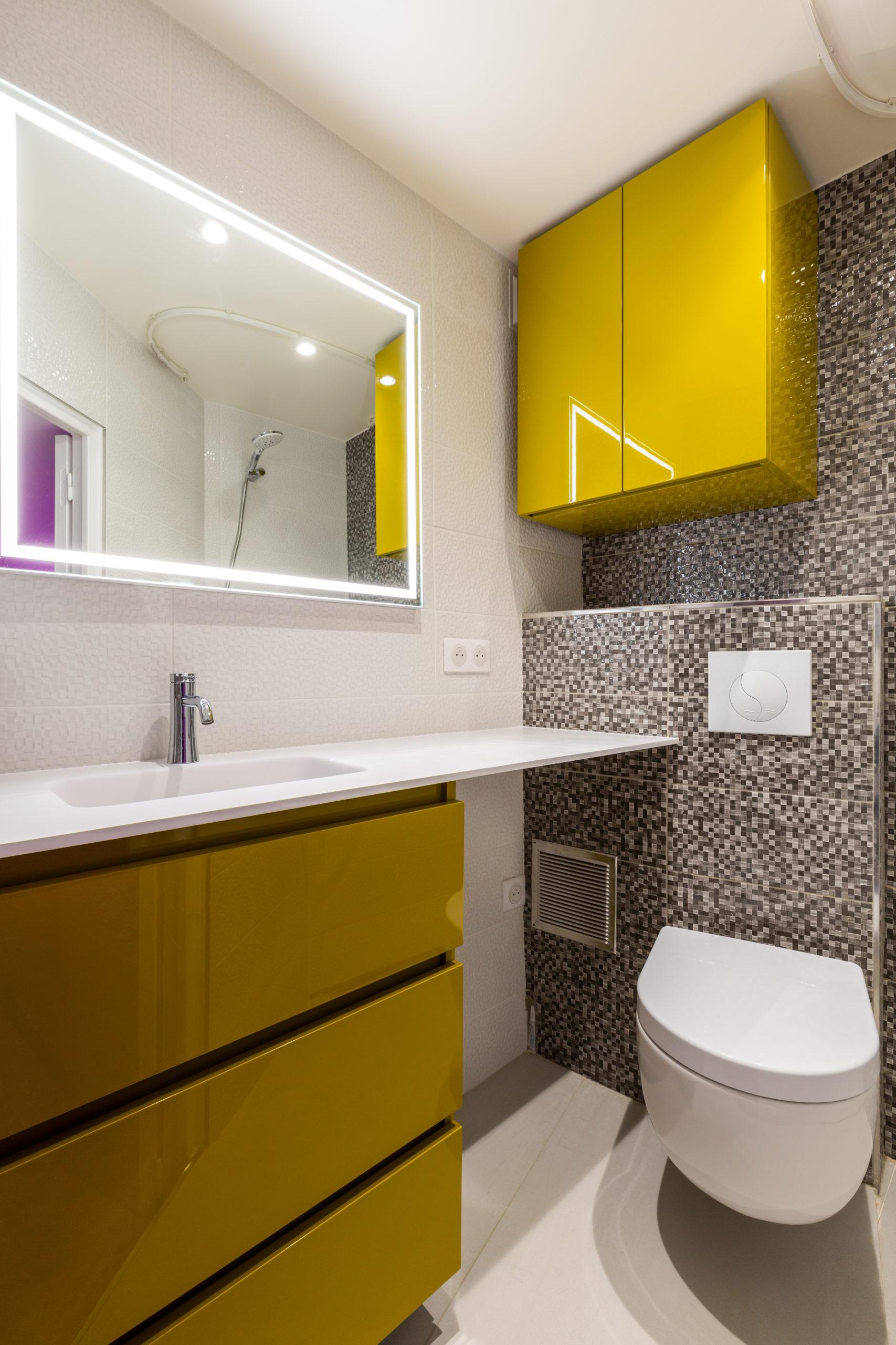 Rénovation salle de bain petite superficie