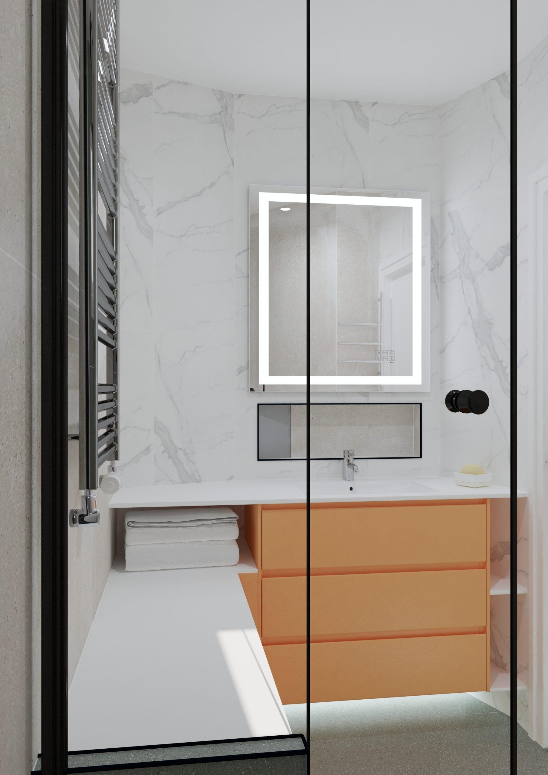 Conception 3D salle de bain