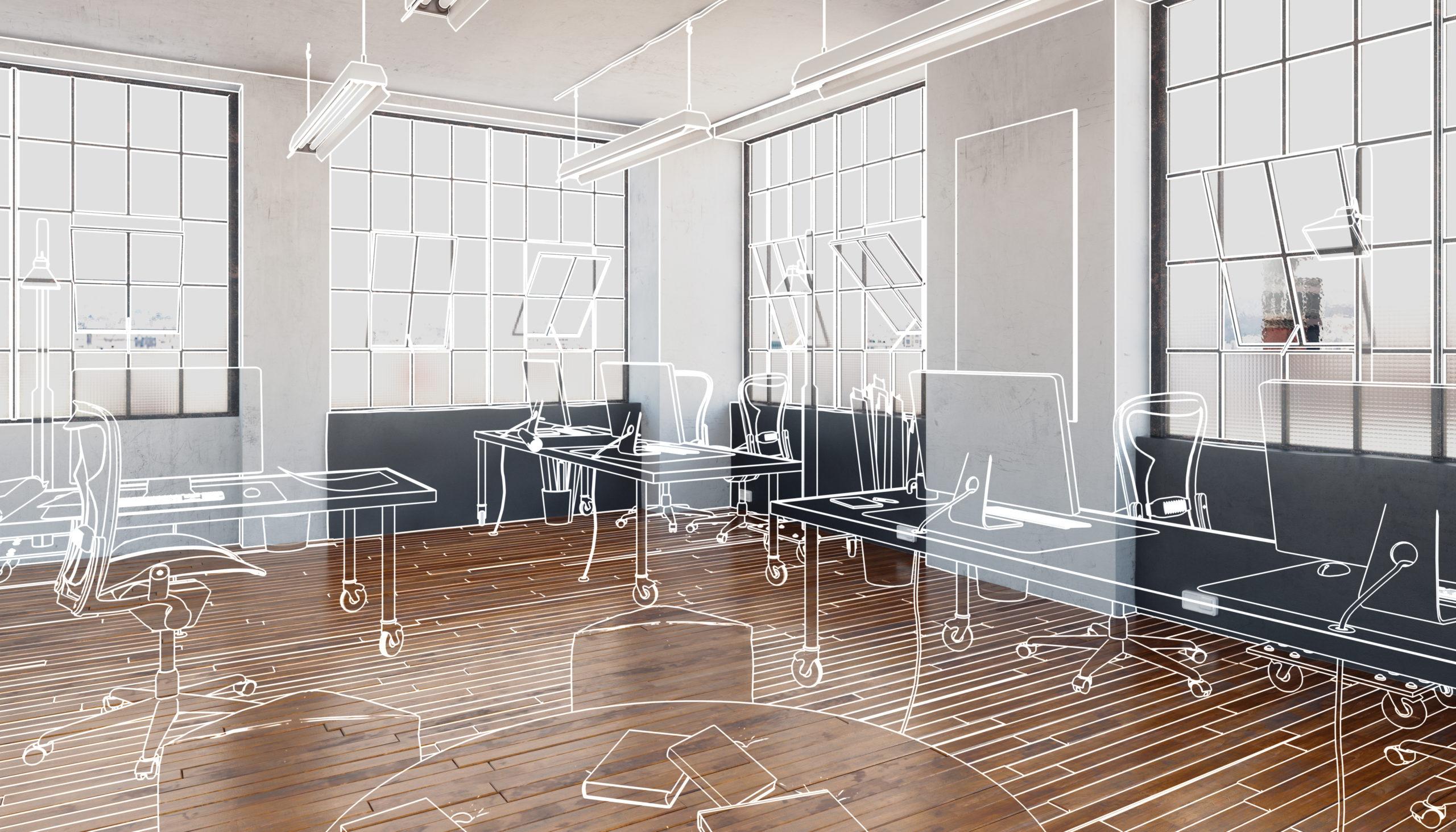 Rénovation bureaux à Paris
